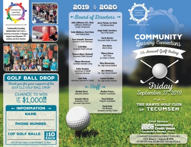 CISTA - Golf Outing Brochure